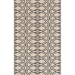 Soho Chic Ivory Wool Rug (8' x 11')