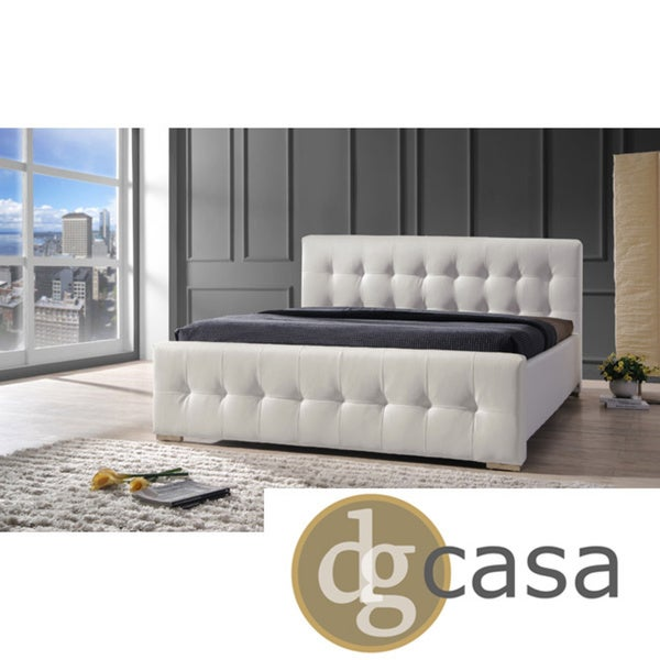 DG Casa Sierra White Queen Size Bed