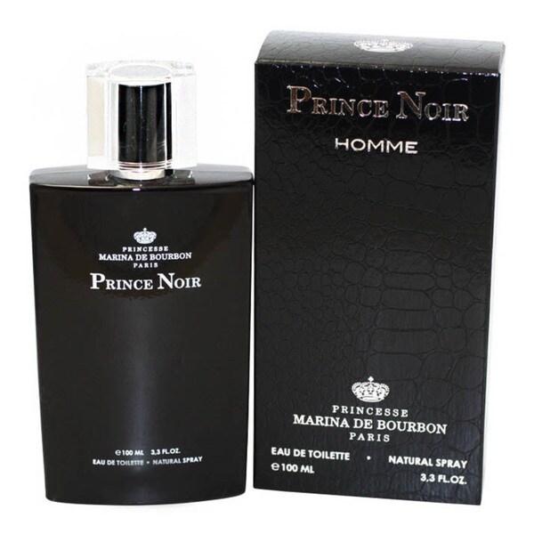 Marina De Bourbon Prince Noir Homme Men's 3.3-ounce Eau de Toilette Spray