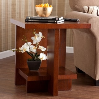 Benton Brown Mahogany End Table