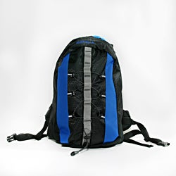 World Famous Sports The Oasis 2 Liter Hydration Hiking Backpack in Royal/Black