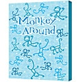 Felittle People 'Monkey Around' Gallery Wrapped Canvas Art