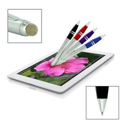 Dual-purpose Micro-Knit Technology Capacitive Stylus/ Retractable Ballpoint Pen