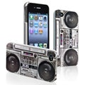 Old Player Snap-on Rubber Coated Case for Apple iPhone 4/ 4S