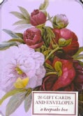 Card Box of 20 Notecards and Envelopes: Peony: A Keepsake box (Cards)