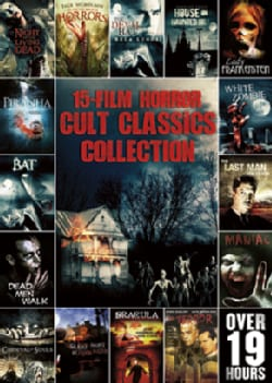15-Film Horror Cult Classics Collection (DVD)