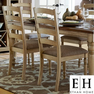 ETHAN HOME Carlingford Buttermilk Country Dining Chair (Set of 2)