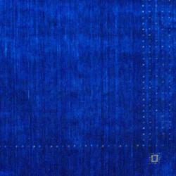 Herat Oriental Indo Hand-loomed Blue Gabbeh Wool Area Rug (4' x 6')