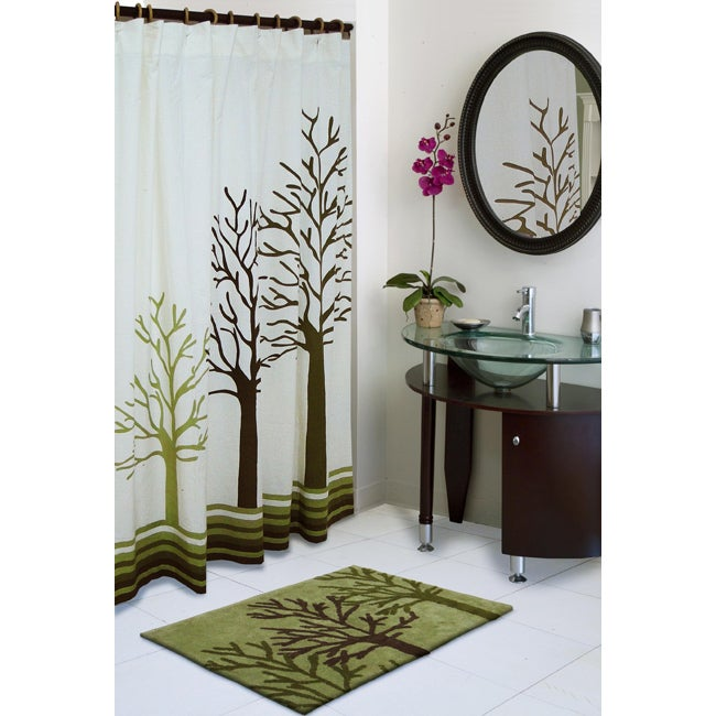 Http Www Ebay Com Itm Tree Shower Curtain Cotton Bathroom Nature Home Decor Bath Nature Woodland New 221609484623