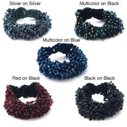 Multi Strand Streamers Multi Color Beads Toggle Bracelet (Philippines)