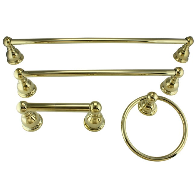 Price Pfister Georgetown Polished Brass Bath Accessory Kit