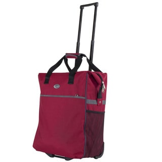 Rugged Calpak 'Big Eazy' 20-Inch Washable Rolling Shopping Tote Bag