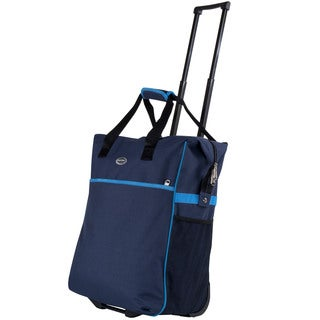Calpak 'Big Eazy' 20-inch Rolling Shopping Tote Bag