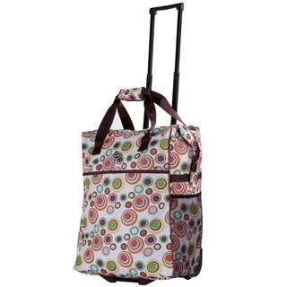 Calpak Big Eazy Lightweight 20-Inch Washable Rolling Shopper Tote
