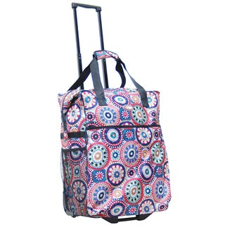 Calpak 'Big Eazy' 20-inch Washable Rolling Shopping Tote Bag