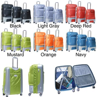 Calpak Lafayette 3-piece Expandable Hardside Luggage Set