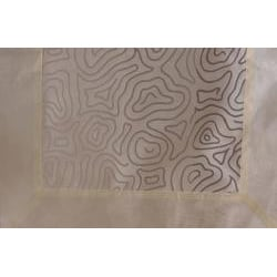 Linea Collection Organdy Ivory Placemat / Napkin Set