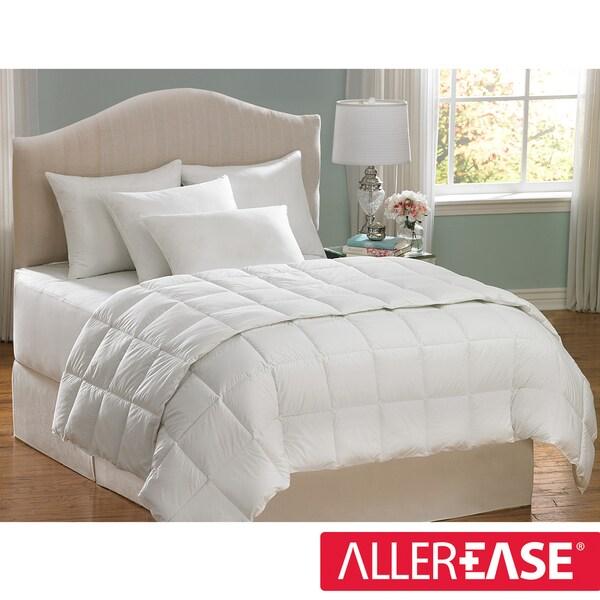 AllerEase Cotton Twin-size Hypoallergenic Down Alternative Comforter