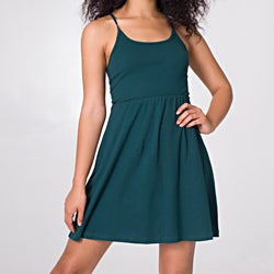 American Apparel Women's Cross-back Dress