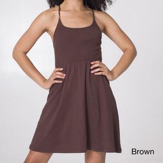 American Apparel Women's Cross-back Dress