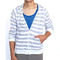 American Apparel Men's Fine Jersey Zip Hoody