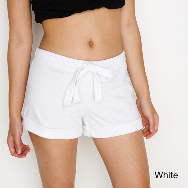 American Apparel Women's Thick-Knit Jersey Safari Short