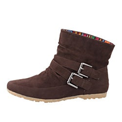 Modesta by Beston Women's 'Toto-01 Brown Boots