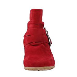Modesta by Beston Women's 'Toto-01' Red Boots