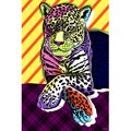 Maxwell Dickson 'Cat Colors' Pop Art Giclee Print