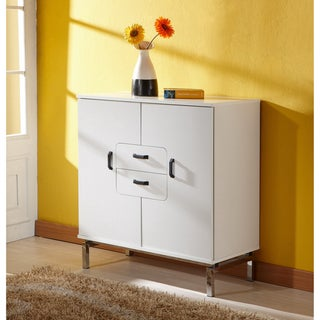 Furniture of America Nikko White Finish Buffet Table