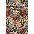 Montague Ivory/ Multi Wool Rug (3'6 x 5'6)