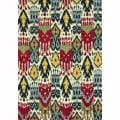 Hand tufted Montague Ivory/ Multi Wool Rug (2'6 x 7'6)