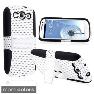 Hybrid Case with Stand for Samsung Galaxy S III