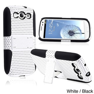 INSTEN Hybrid Phone Case Cover with Stand for Samsung Galaxy S III