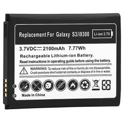Black Li-ion Battery for Samsung Galaxy S III i9300