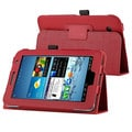 Black Leather Case for Samsung Galaxy Tab 2 P3100/ P3110/ 7-inch