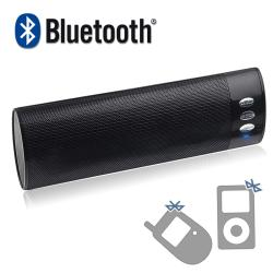 INSTEN Wireless Bluetooth Speaker- Black for Apple iPhone 4/ 4S/5/ 5S/ 6