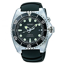 Seiko Men's Kinetic Dive Watch