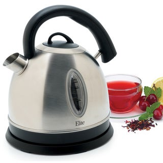 Maxi Matic Stainless Steel Cordless Electric Kettle