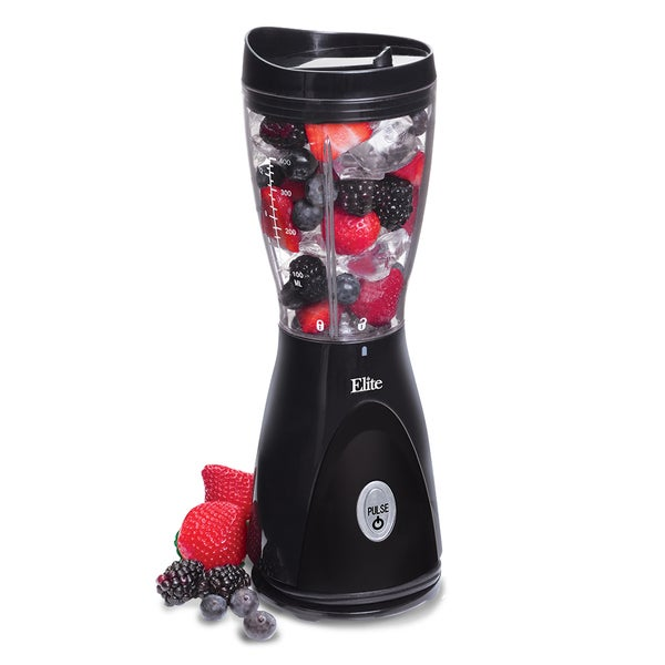 Maxi-Matic Elite Cuisine EPB-2570 Black Personal Drink Blender 9448957