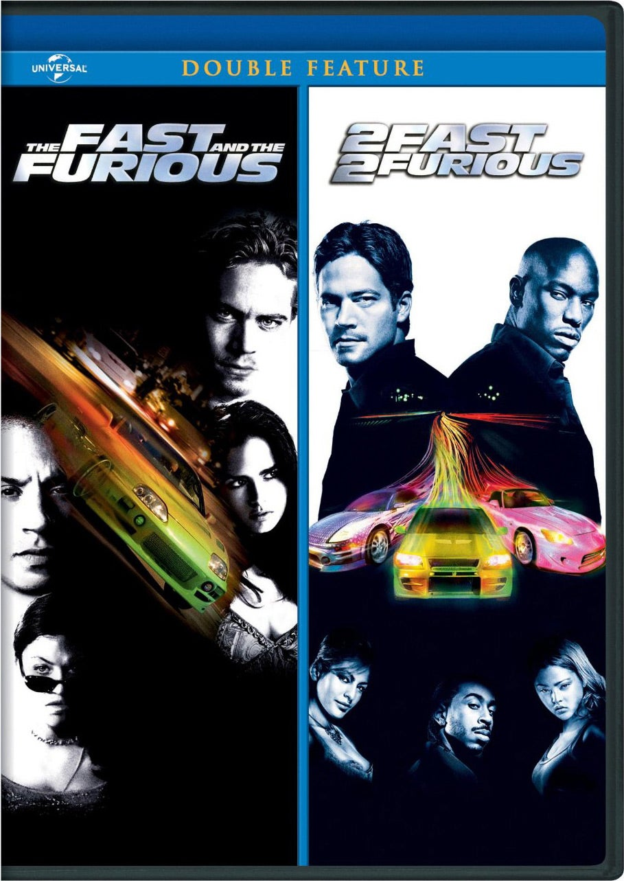 The Fast And The Furious/2 Fast 2 Furious (DVD)