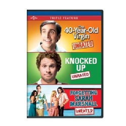 The 40-Year Old Virgin/Knocked Up/Forgetting Sarah Marshall (DVD)