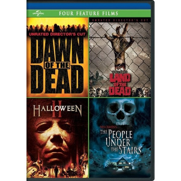 Dawn Of the Dead/George A. Romero's Land Of The Dead/Halloween II/The People Under The Stairs (DVD) 9449502