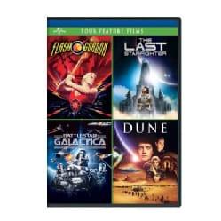 Flash Gordon/The Last Starfighter/Battlestar Galactica/Dune (DVD)