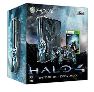 Xbox 360 - Halo 4 Hardware Limited Edition 320GB Bundle