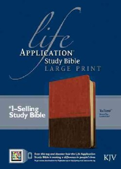 Life Application Study Bible: King James Version, Brown / Tan TuTone, LeatherLike (Paperback)
