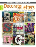 Decorate With Letters: 20 Projects to Personalize Your Life! (Paperback)