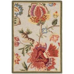 Safavieh Hand-hooked Chelsea Eden Sage Wool Rug (1'8 x 2'6)