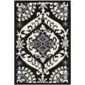 Safavieh Hand-hooked Chelsea Heritage Black Wool Rug (1'8 x 2'6)