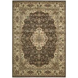 Nourison Persian Arts Chocolate Rug (2' x 3'6)